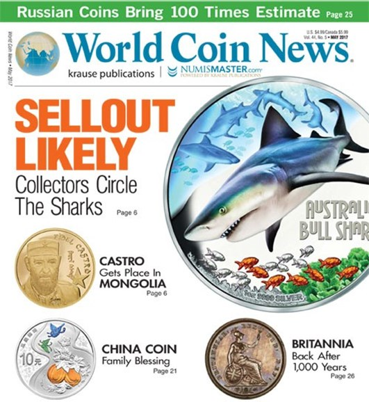 World Coin News Cover - 5/1/2017