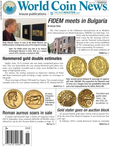 World Coin News Cover - 11/1/2014