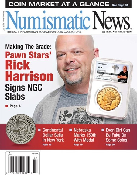 Numismatic News Cover - 7/18/2017