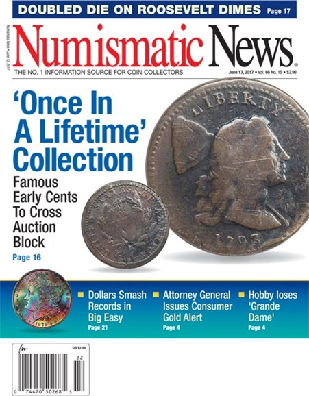 Numismatic News Cover - 6/13/2017