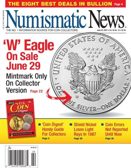 Numismatic News Cover - 6/27/2017