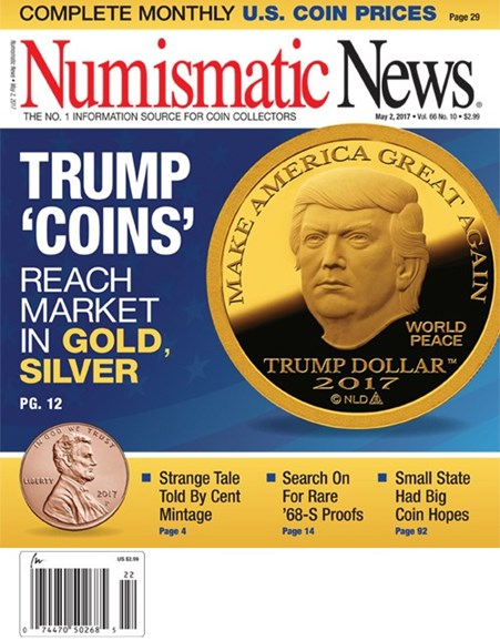 Numismatic News Cover - 5/2/2017
