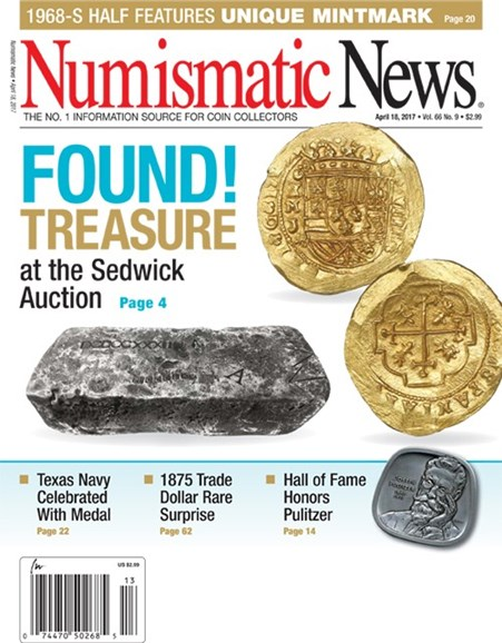 Numismatic News Cover - 4/18/2017