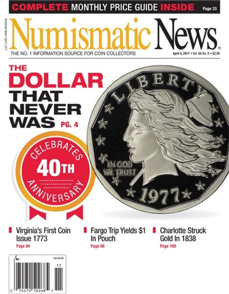 Numismatic News Cover - 4/4/2017