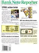 Bank Note Reporter Magazine 4/1/2014
