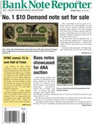 Bank Note Reporter Magazine 8/1/2014