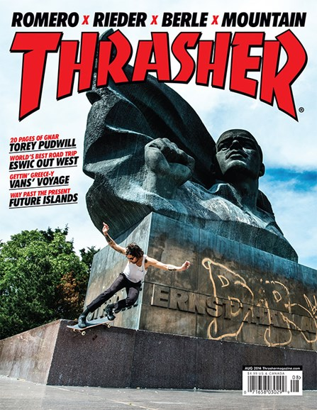 Thrasher Cover - 8/1/2014