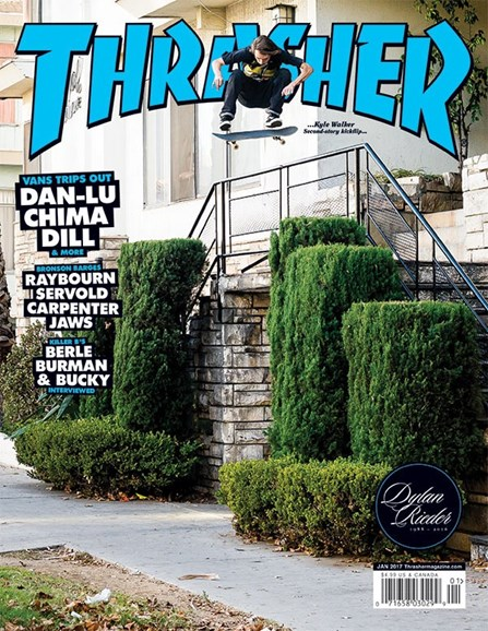 Thrasher Cover - 1/1/2017