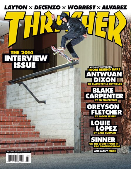Thrasher Cover - 7/1/2014