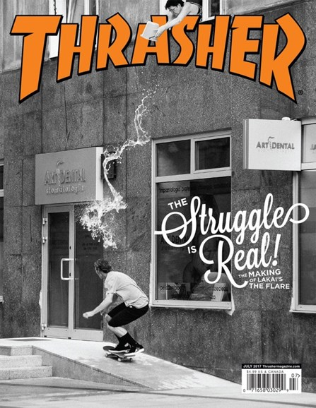 Thrasher Cover - 7/1/2017
