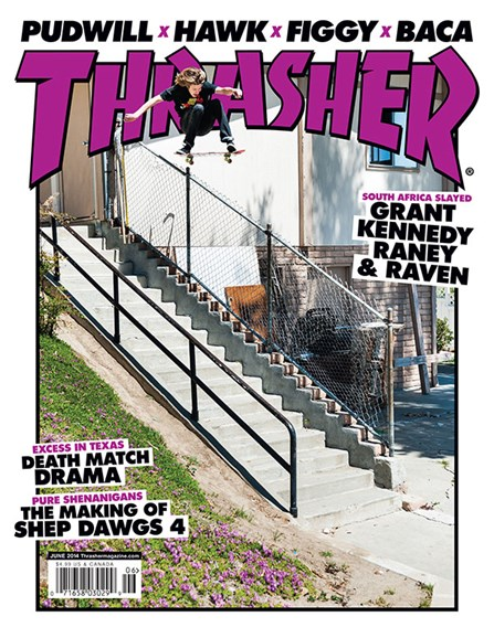 Thrasher Cover - 6/1/2014