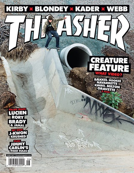 Thrasher Cover - 6/1/2017