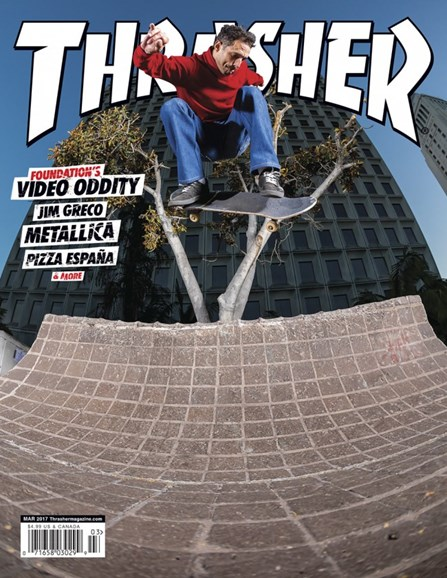 Thrasher Cover - 3/1/2017