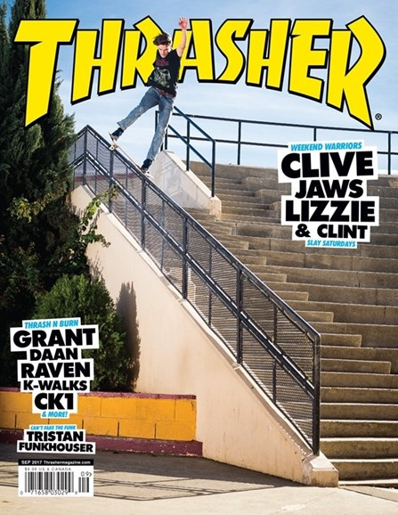 Thrasher Cover - 9/1/2017