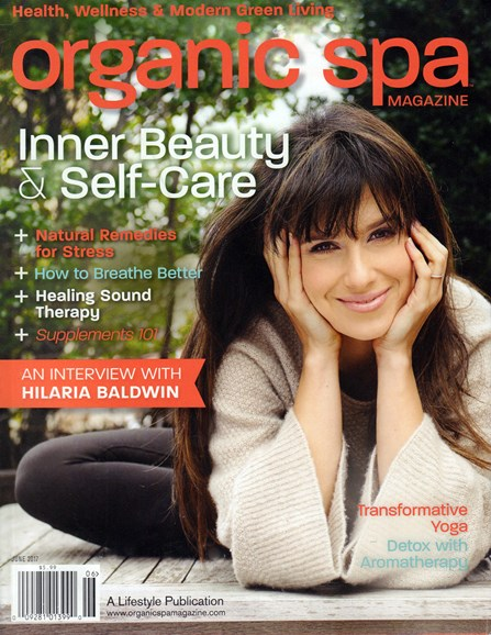 Organic Spa Cover - 6/1/2017