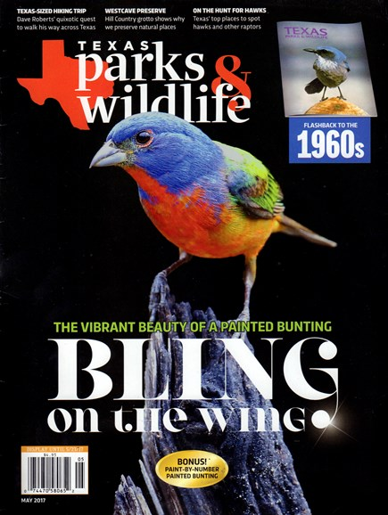 Texas Parks & Wildlife Cover - 5/1/2017