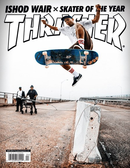 Thrasher Cover - 4/1/2014