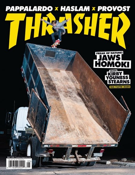 Thrasher Cover - 5/1/2014