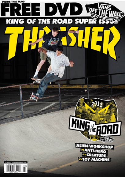 Thrasher Cover - 2/1/2013