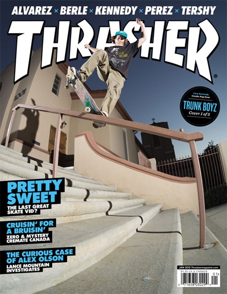 Thrasher Cover - 1/1/2013