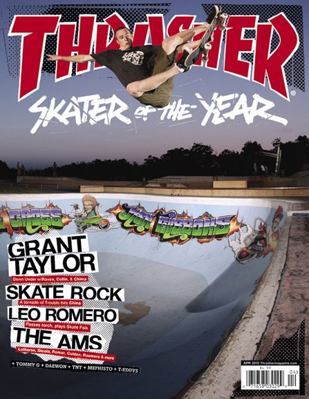 Thrasher Cover - 4/1/2012