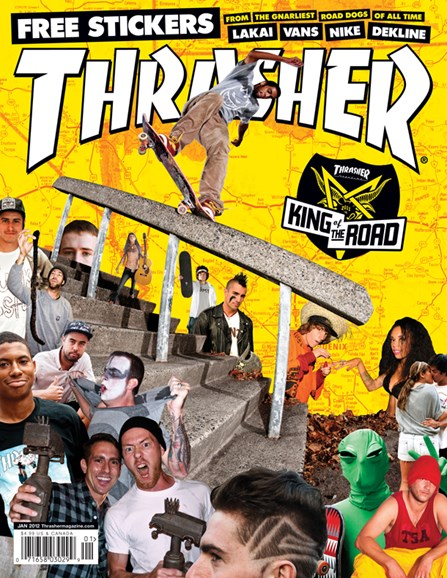 Thrasher Cover - 1/1/2012