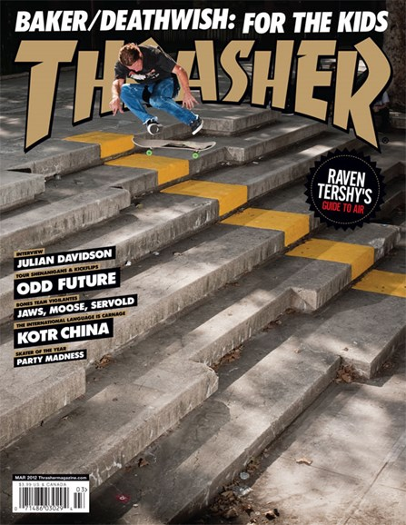 Thrasher Cover - 3/1/2012