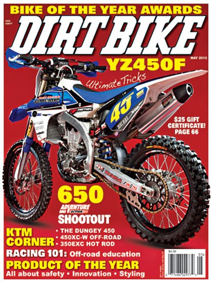 Dirt Bike Cover - 5/1/2013