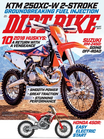 Dirt Bike Cover - 8/1/2017