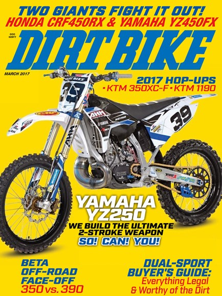 Dirt Bike Cover - 3/1/2017