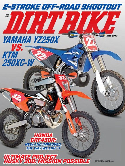 Dirt Bike Cover - 5/1/2017