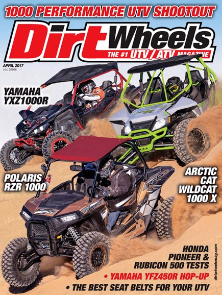 Dirt Wheels Cover - 4/1/2017