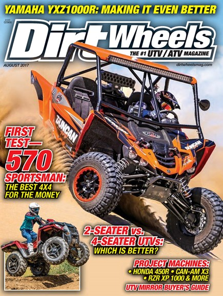 Dirt Wheels Cover - 8/1/2017