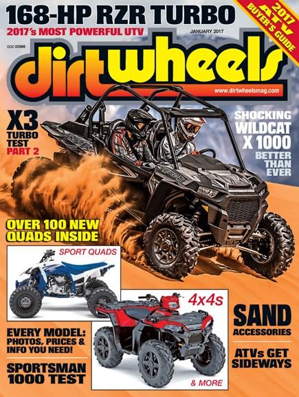 Dirt Wheels Cover - 1/1/2017