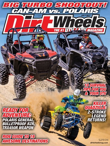 Dirt Wheels Cover - 7/1/2017