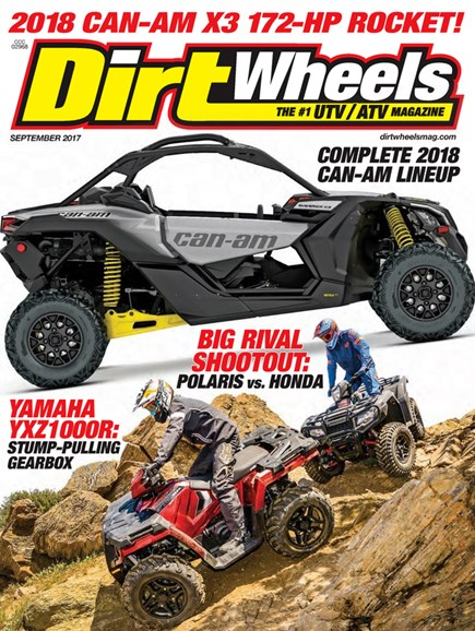 Dirt Wheels Cover - 9/1/2017