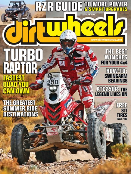 Dirt Wheels Cover - 5/1/2016