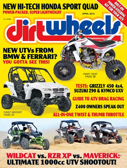 Dirt Wheels Cover - 4/1/2014