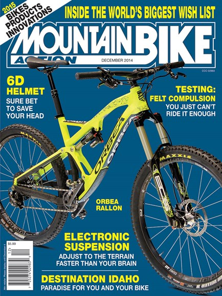 Mountain Bike Action Cover - 12/1/2014