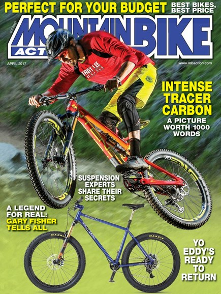 Mountain Bike Action Cover - 4/1/2017