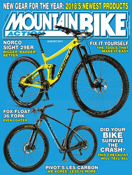 Mountain Bike Action Cover - 8/1/2017