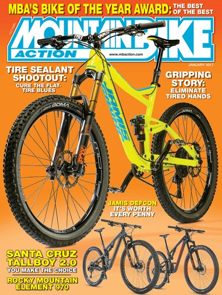 Mountain Bike Action Cover - 1/1/2017