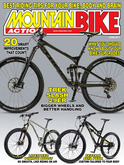 Mountain Bike Action Cover - 6/1/2017