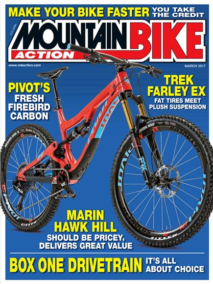 Mountain Bike Action Cover - 3/1/2017