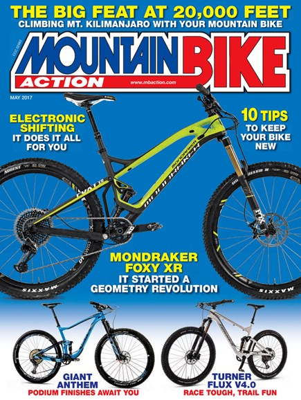 Mountain Bike Action Cover - 5/1/2017