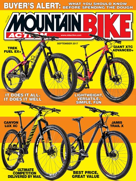 Mountain Bike Action Cover - 9/1/2017