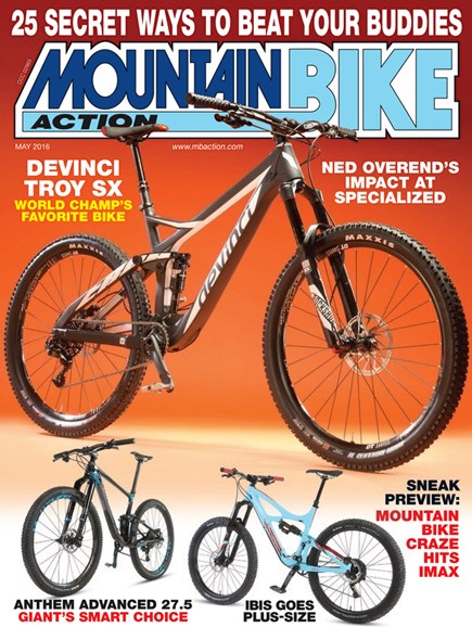 Mountain Bike Action Cover - 5/1/2016
