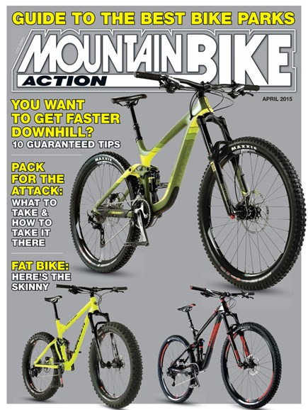 Mountain Bike Action Cover - 4/1/2015
