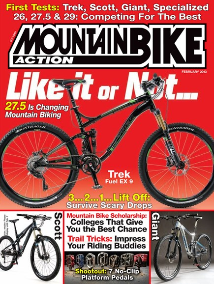 Mountain Bike Action Cover - 2/1/2013