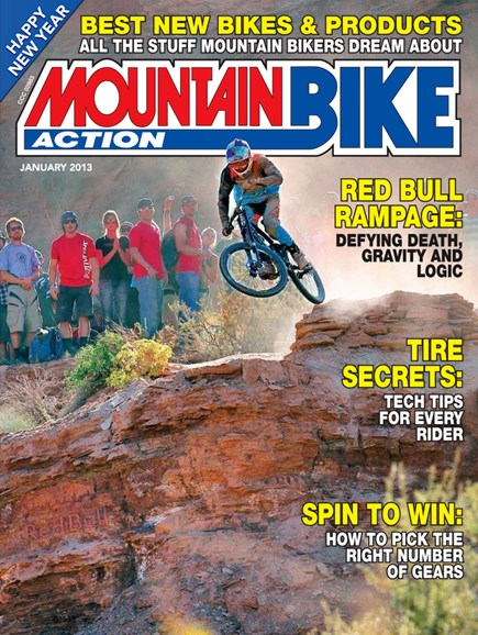 Mountain Bike Action Cover - 1/1/2013
